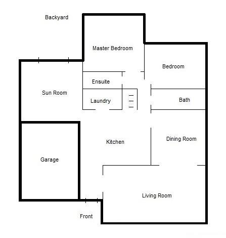 117 Kilroot Place - Main Level Floor Plan