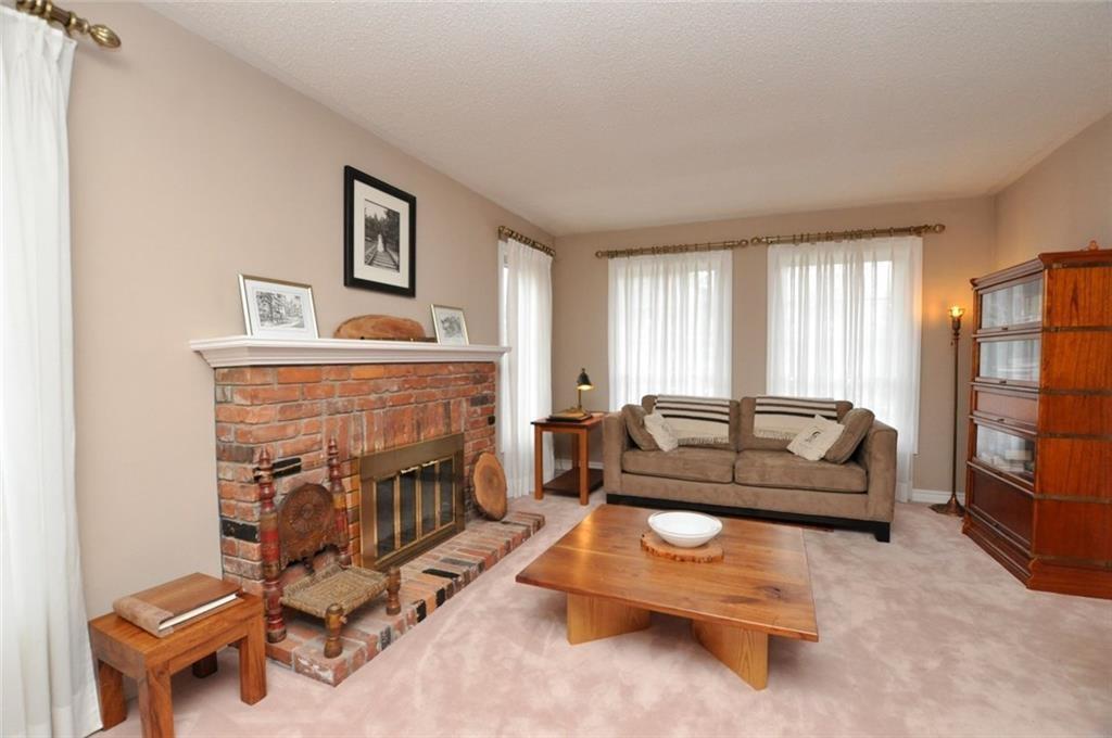 241 Lloyminn Avenue - Living Room with Fireplace