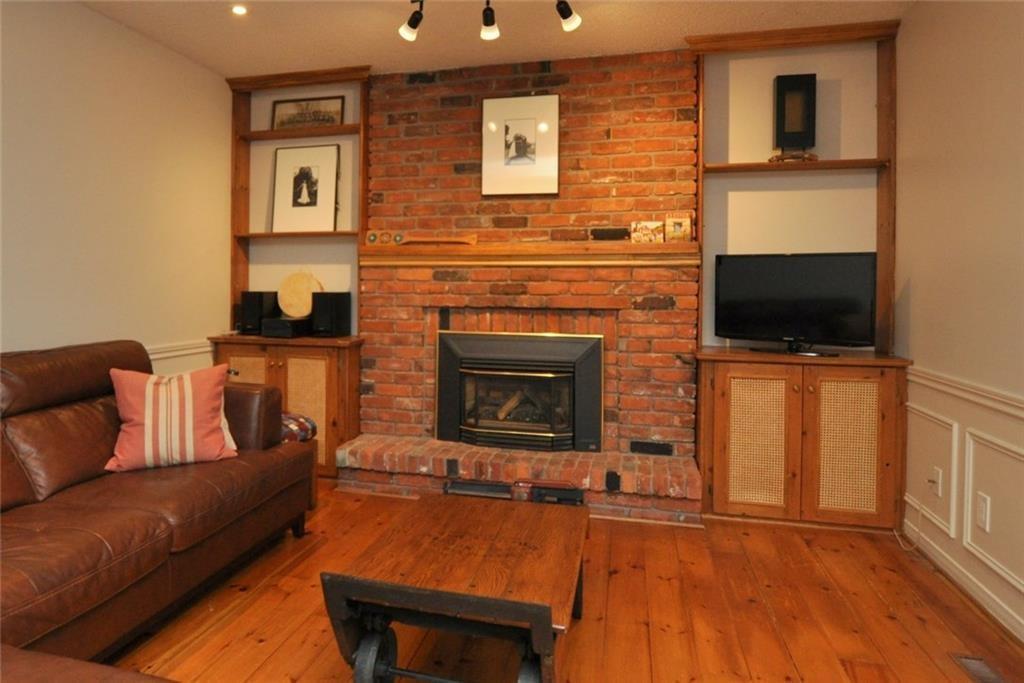 241 Lloyminn Avenue - Family Room with Fireplace
